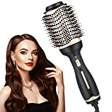 Hair Dryer Brush, Hot Air Brush And Volumizer, Multi-functional 3-in-1 Professional Salon Negative