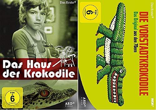 Das Haus der Krokodile - Die komplette Serie + Die Vorstadtkrokodile [DVD Set]