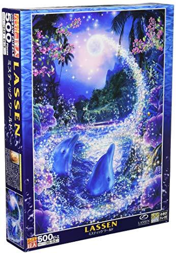 500ピース ジグソーパズル ラッセン ミスティック ワールド 【光るパズル】 (38x53cm)