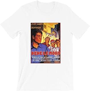 Pepe le Moko 1937s Jean Gabin Mireille Balin Film Noir Retro Movie Gifts Funny Mens Womens Girls Unisex T-Shirt
