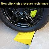 Leiyini Rampes de Chargement Heavy Duty Portable Léger en Plastique Curb Rampes Kit De Plastique pour Usage...