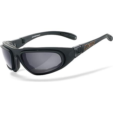 Helly No 1 Bikereyes Polarisierend Bikerbrille Motorradbrille Motorrad Sonnenbrille Winddicht Gepolstert Beschlagfrei Bruchsicher Top Tragegefühl Bei Langen Ausfahrten Brille Thunder 2 Auto