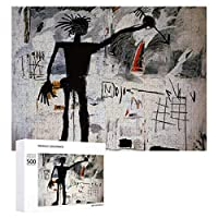500ピース ジグソーパズル パズル 木製パズル 飾り画 バスキア 6 参考図付き 減圧玩具 頭脳練習 創造力 知育 子供 大人 ギフト プレゼント puzzle