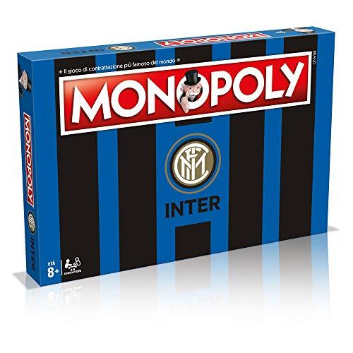 Winning Moves Gioco da Tavolo-Monopoly Squadre di calcio-Inter Edizione da Collezione, Colore 3, 31493