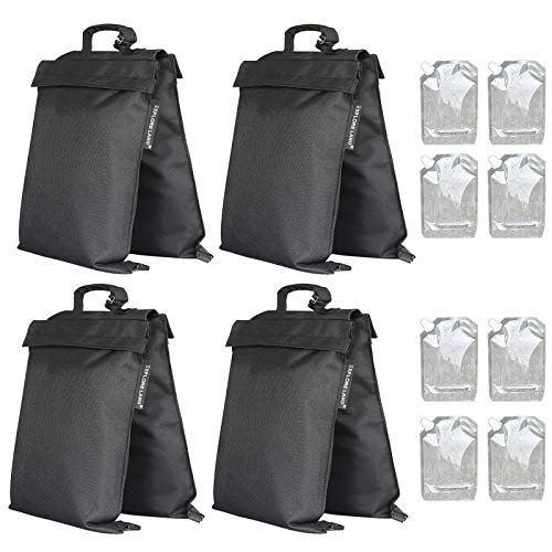 Explore Land 2-in-1 Saddle Weight Bag Universal Filled with Water & Sand