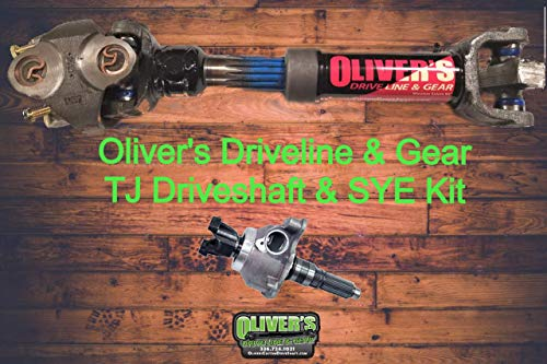 Wrangler CV 1310 Rear Drive Shaft - TJ & Advanced Adaptors SYE (NON RUBICON)
