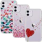 Young & Ming Cover per iPhone 11 6.1, (3 Pack) Morbido Trasparente Silicone Custodie Prote...