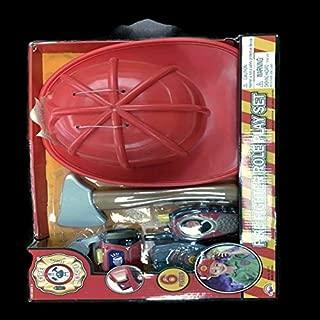 6Pcs Fireman Playset W/B/O Flashlight