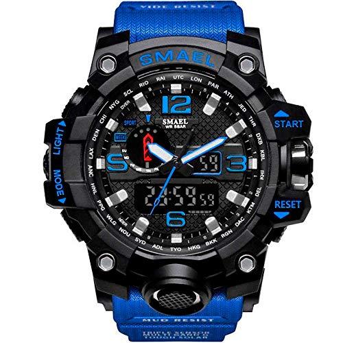 Relógio Masculino G-Shock Smael 1545 Militar - Azul