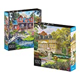 Best Jigsaw Puzzles For Adults - 2-Pack of 1000-Piece Jigsaw Puzzles, for Adults, Families Review
