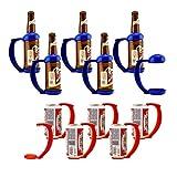 KegWorks Instant Beer Stein Can & Bottle Grip Handle Party Pack - Set of 12 Mug Handles (6 for Cans / 6 for Bottles)