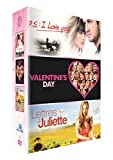 P.S. : I Love You + Valentine's Day + Lettres à Juliette [Francia] [DVD]...
