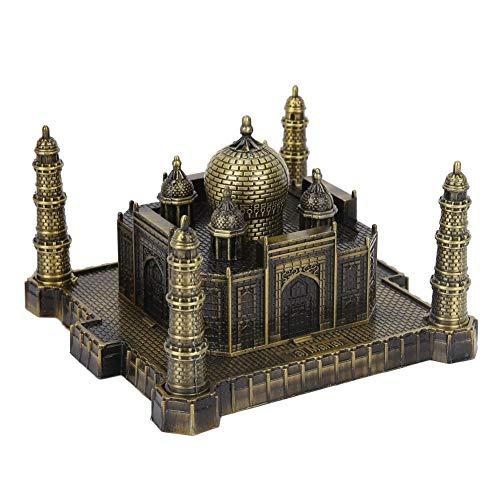 Jadpes 𝐂𝐡𝐫𝐢𝐬𝐭𝐦𝐚𝐬 𝐂𝐚𝐫𝐧𝐢𝒗𝐚𝐥 India Taj Mahal Model,Metal Crafts World Landmark Building Model Architectural Creatives Taj Mahal for Home Office Decor Ornaments