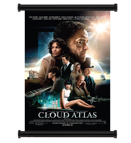 Cloud Atlas (2012) Movie Fabric Wall Scroll Poster (31' x 47') Inches