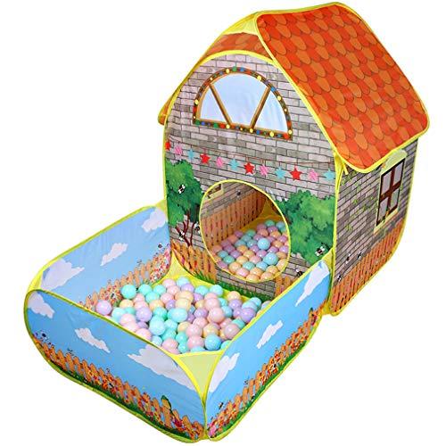 Kinderen Pop-up Tenten Huis Met Binnentuin Kruipend Vouwtent Huis Jongens Meisjes Spelen Tent Ballenbad Kinderen Cadeau