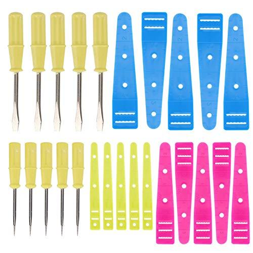 Acero y plástico de alta calidad, destornillador para máquina de coser de 25 piezas, para desmontar juguetes y otros aparatos eléctricos, enhebrador de bandas para reparación de máquinas de