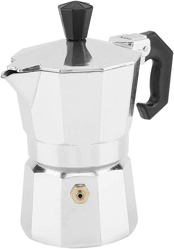 50ml Italian Moka Pot 1 Cup Aluminum Italian Type Moka Pot Espresso Coffee Maker Stove Home Coffee Making