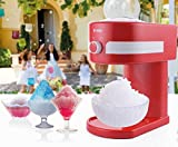 Vivo  Retro Slushy Maker Machine Kit - Make Slush Snow Cones Slushie Ice Cold Drink
