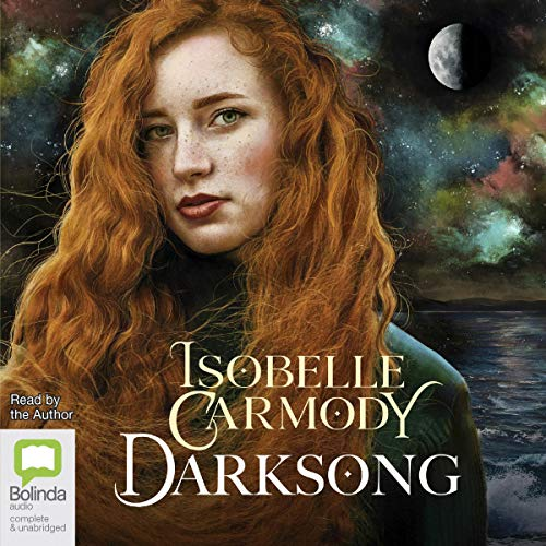 Darksong audiobook cover art