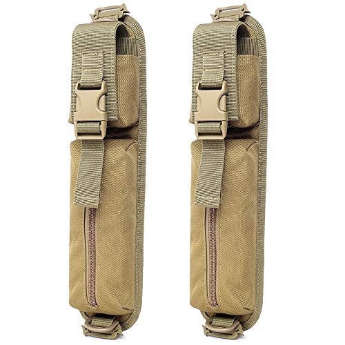 WYNEX Tactical Molle Accessory Pouch, Backpack Shoulder Strap Bag Shoulder Tape Additional Bag Multifunctional Hunting Tools Pouch