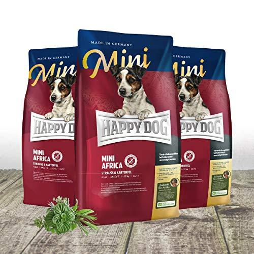 Happy Dog Mini Africa 3 x 4 kg Superpaket