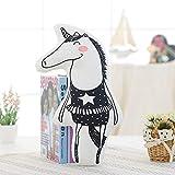 Fslt Creativo Nuevo INS Nuevo algodón Unicornio muñeca Animal Almohada Arco Iris bebé calmante Jugue...