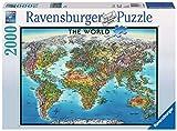 Ravensburger-16683 geografía Puzzle 2000 Piezas, Multicolor (16683 1)