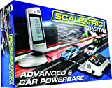 Best Scalextric Sets - Scalextric Digital C7042 6 Car Powerbase 1:32 Scale Review