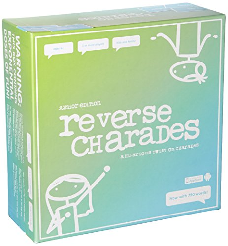 Reverse Charades Board Game - Fun & Hilarious Family Games - For...