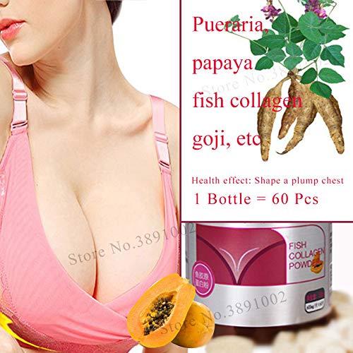 REFIT Pueraria Extract,Mirifica Papaya Breast Enlargement Capsules,Breast Augmentation Pills,Massage Oil,Bigger Breast Bust Care Cream
