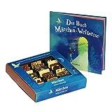 YouHou 'Märchen Weltreise' Schokolade Märchenbuch Geschenkbox, Geschenk für Kinder, 24 Schokoladen, 24 Geschichten, zum Geburtstag, Lesen und Vorlesen