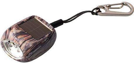 Rubytec - mini-zaklamp Kao Clip led solar 4,6 cm ABS houtmotief - Bruin,Zwart