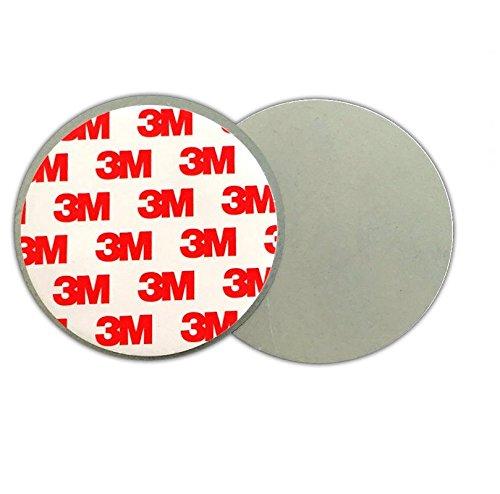 Fiducia 3M Premium Magnethalter [10er Set] Magnetbefestigung für Rauchmelder Extra Dick Magnet Kleber Halter Universelle Magnethalterung