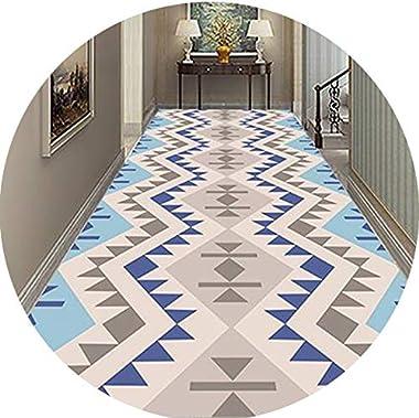 Hallway Runner Rug Long Runner Rugs Corridor Carpet Geometric Patterns Doorway Bedroom Home Aisle Stairs Hotel Bedside Strip