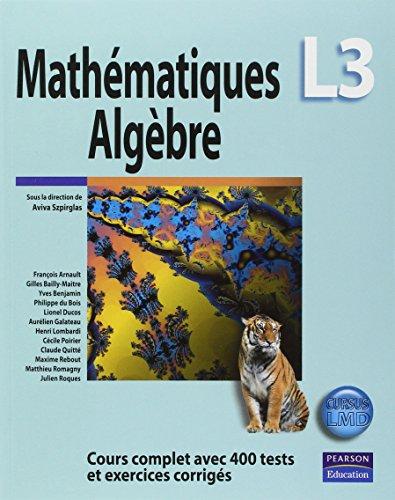Mathématiques L3