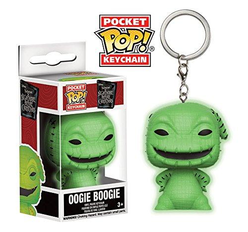 Pocket POP! Keychain: Disney: Pesadilla antes de Navidad: Oogie Boogie Brilla en la oscuridad Exclusivo