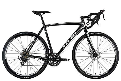 KS Cycling Rennrad 28'' Xceed Gravelbike schwarz-grau RH 58 cm