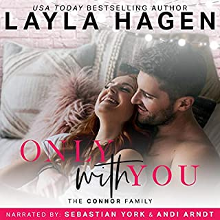 Only with You                   By:                                                                                                                                 Layla Hagen                               Narrated by:                                                                                                                                 Sebastian York,                                                                                        Andi Arndt                      Length: 6 hrs and 9 mins     10 ratings     Overall 4.8