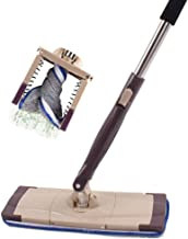BTYAY Mop,Extendable Microfibre Mop Cleaner Sweeper Wooden Laminate Tile Floor Wet Dry