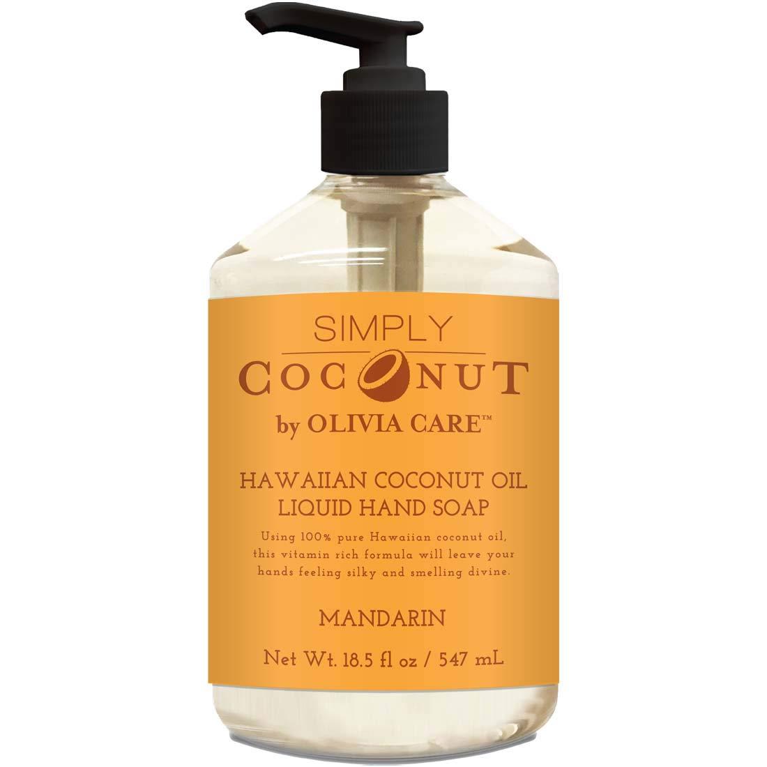 Indianapolis Mall 40% OFF Cheap Sale Liquid Hand Soap By Olivia Care All Coconut. - Mandarin Natura