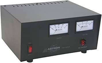 Astron RS-35M-AP Desktop 13.8VDC Linear Power Supply with Meters and Anderson Power Poles, 35A Peak, 25A Continuous