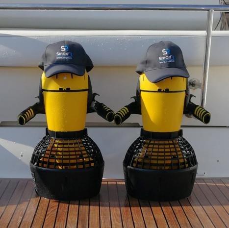 Unterwasser Scooter für bis zu 20 Meter Tiefe Bild 4*