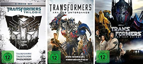 Transformers 1-5 (1-3 + 4 + 5) im Set - Deutsche Originalware [5 DVDs]