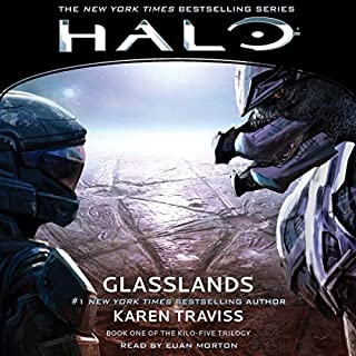 HALO: Glasslands     HALO, Book 11              By:                                                                                                                                 Karen Traviss                               Narrated by:                                                                                                                                 Euan Morton                      Length: 15 hrs and 15 mins     2 ratings     Overall 5.0
