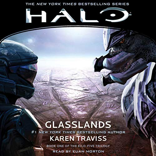 HALO: Glasslands audiobook cover art