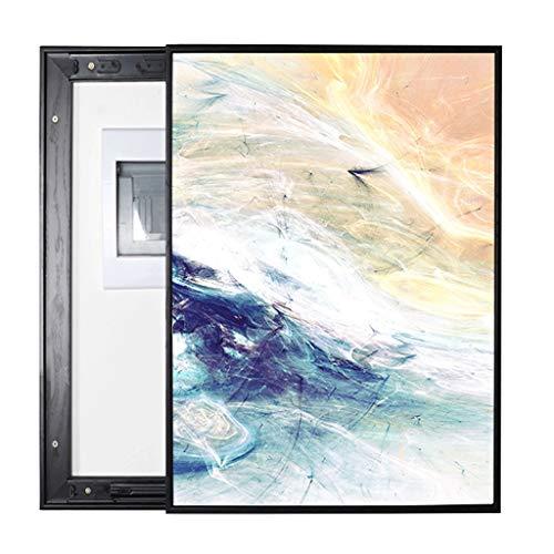 SHANCL Cuadro Abstracto de medidor eléctrico Pintura Decorativa Push-Pull Sección Vertical Moderno...