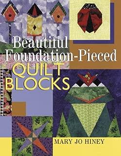 Best beautiful foundation pieced quilt blocks Reviews