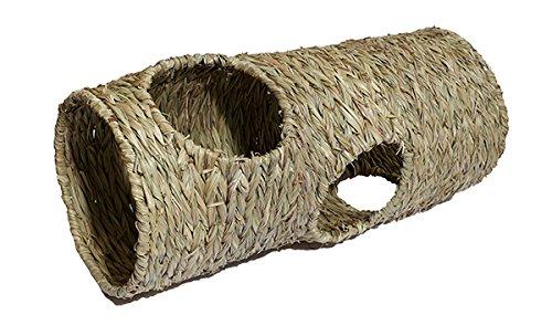 Rosewood Naturals Schilf-Tunnel in Jumbo-Ausführung für Nager, 50x22cm