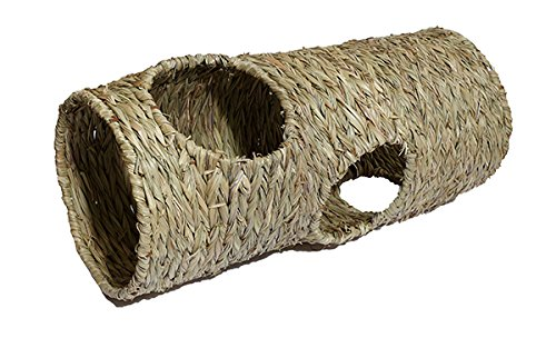 Naturals pequeños Animales Actividad Tejido Jumbo Play túnel de Palisandro Mascota Productos