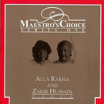 Maestro's Choice Series One - Alla Rakha & Zakir Hussain